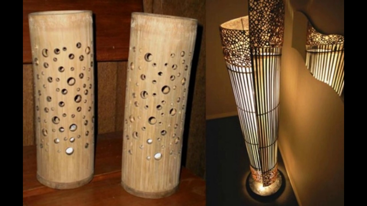 creative bamboo handicraft products from indonesia youtube
