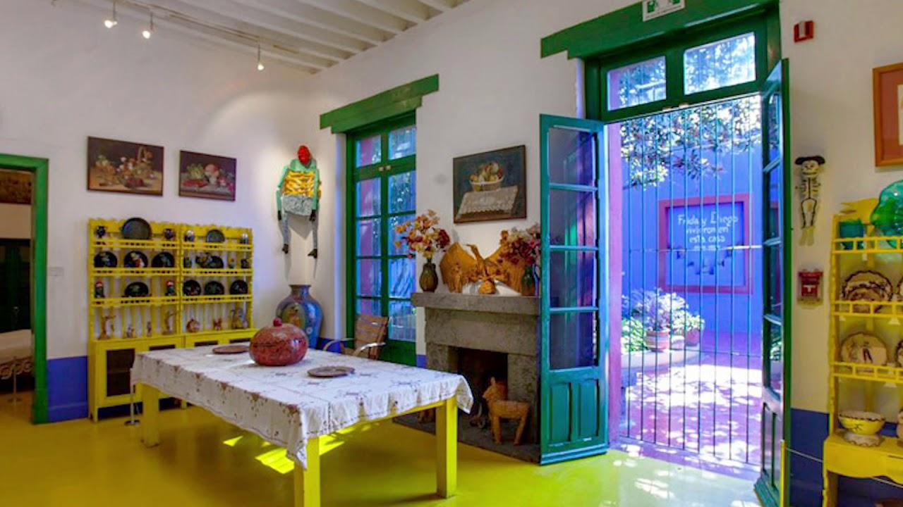 Coyoacán Y La Casa Azul El Universo íntimo De Frida Kahlo Vlog11 Youtube
