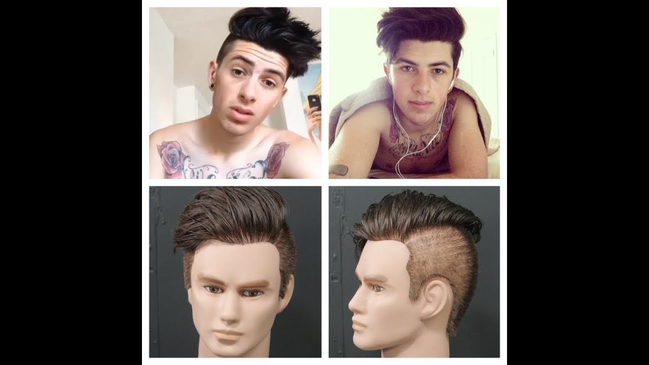 back and sides haircut tutorial sam pepper haircut tutorial 4759