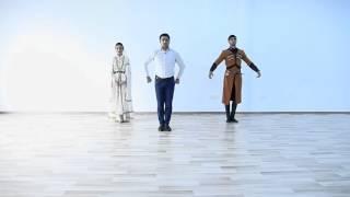 Dikiy Kavkazdan Lezginka Video Derslik-Урок лезгинки от Дикого Кавказа (5) 2016