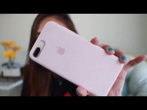 Apple Silicone Case Pink Sand for Iphone 8 plus | Tear | Color Comparison | Maureen Scott