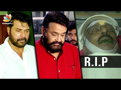 Mohanlal and Mammootty pour in their condolences for Director IV Sasi | Kamal Hassan