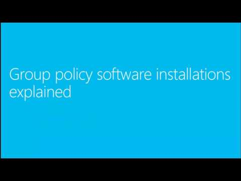 MMS 2013 Software Deployments From GPO–Based to Configuration Manager