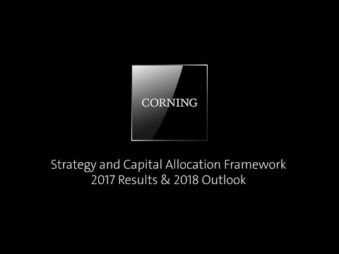 Strategy and Capital Allocation Framework: 2017 Results & 2018 Outlook
