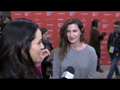 "Kathryn Hahn ""Captain Fantastic"" Sundance 2016 Interview"