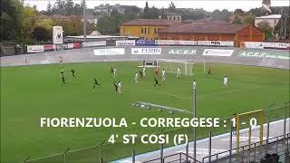 Serie D Girone D Fiorenzuola-Correggese 1-1