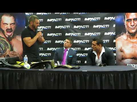 Impact Wrestling Redemption Press Conference  Wrestlemania 34 Weekend New Orleans