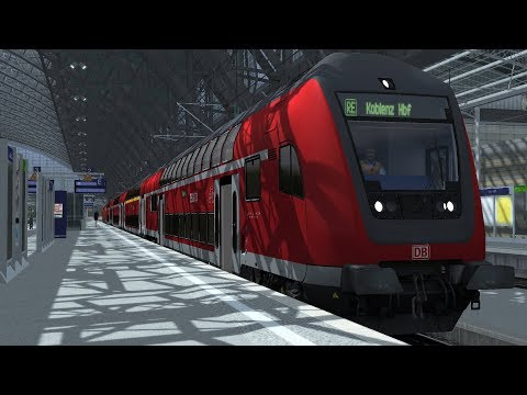 Train Simulator Cologne(Köln) - Koblenz Scenario Pack 1: DB BR146 - 1: Regional Service 10509 Part 1