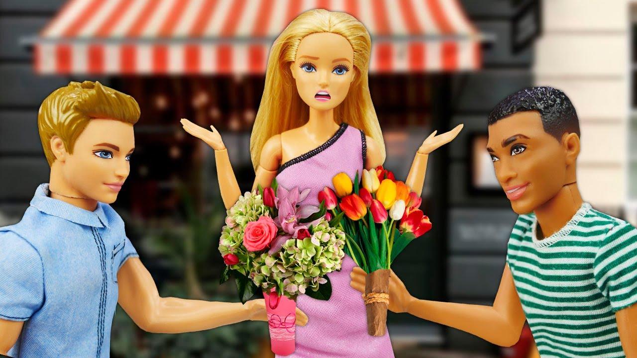 O encontro duplo da Barbie! Quem ela vai escolher? O final vai te surpreender! Novelas com bonecas