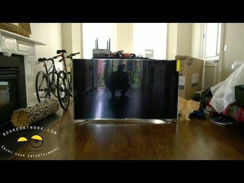 Samsung 65 Inch F9000 UHDTV 4k Unboxing Amp Setup