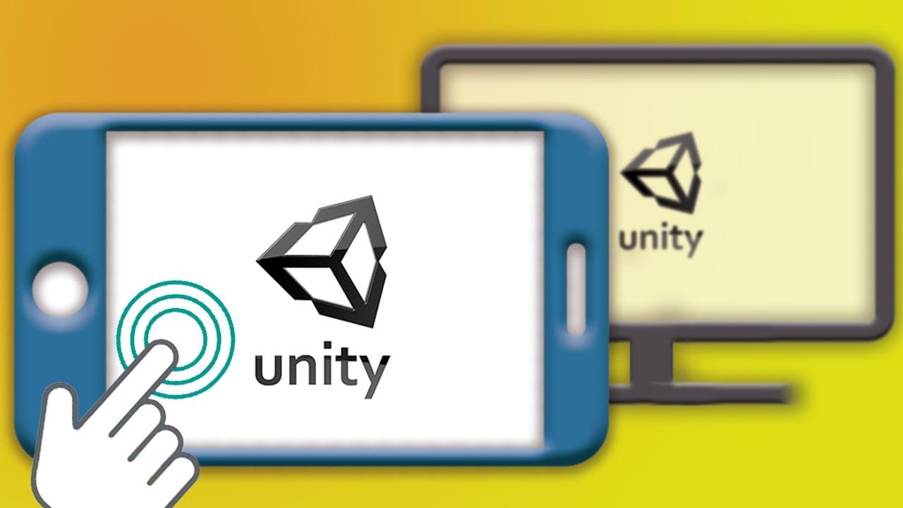Tutorial Unity y celulares: #1 - Cómo transmitir Unity al teléfono, sin compilar