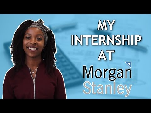 How I Got My Finance Internship At Morgan Stanley! Student Summer Finance Experience!