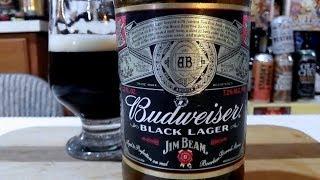 Budweiser BLACK LAGER (7.1% ABV) DJs BrewTube Beer Review #1261