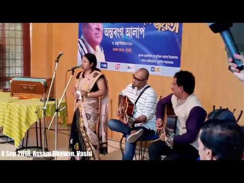 """Sarmistha Chakraborty Sings """"Jibon Ghorir Protitu Pal"""""""