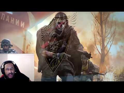 Call of Duty®: Modern Warfare® & Warzone® - Shadow Company Trailer **REACTION**