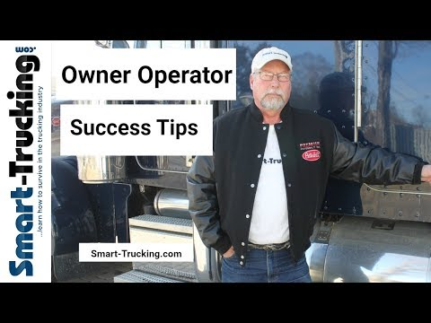 5 Tips to Help You Become Successful as an Owner Operator