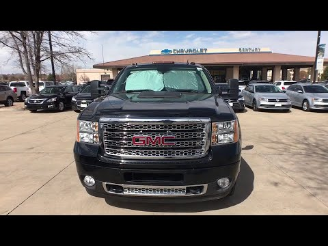 2013 GMC Sierra 3500HD Broomfield, Arvada, Thornton, Boulder, Longmont, Ft. Collins, CO PCB00010