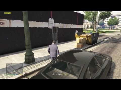 """Grand Theft Auto V Michael w/ Lester Ep.16 """"Casing the Jewelry Store"""" The Approach.. 