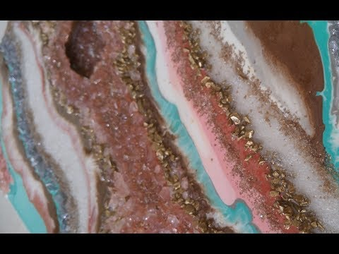 #22- How to make a 3D resin geode, part 2- A Quick Look