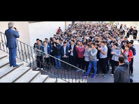 Başkan Demircan Kasımpaşa Lisesi'ni Ziyaret Etti