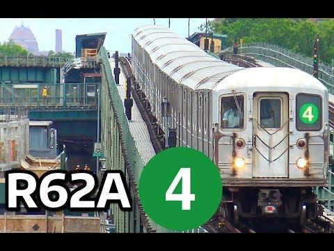 ⁴ᴷ R62A 4 Trains in Brooklyn