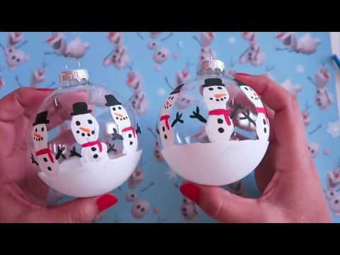 Haz Esferas Decoradas Navideñas Adornos Navideños