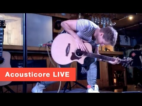 Tobias Rauscher - Acousticore *LIVE* in China (mobile video)