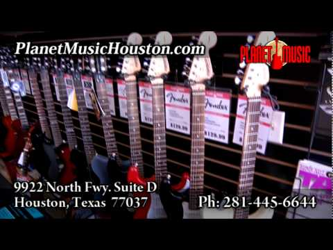 Planet Music Houston Guitar Store