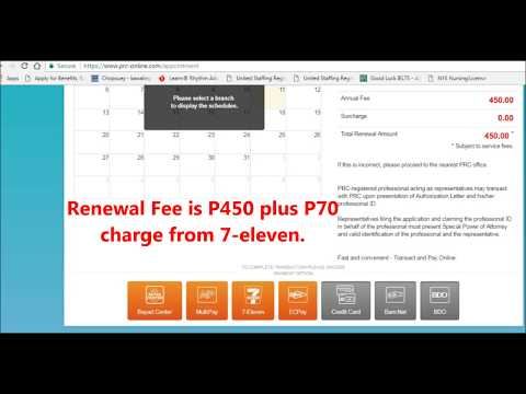PRC LICENSE ONLINE RENEWAL GUIDE PHILIPPINES 2017