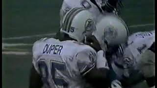 1989 week 7 Packers at Dolphins