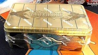 Abriendo Otra Lata Cofre De Oro Sellado 2019 De Yu Gi Oh Youtube