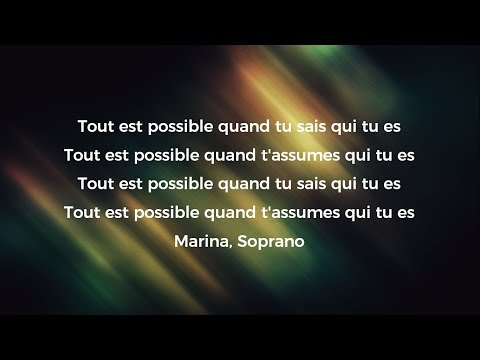 Mon Everest - Soprano ft. Marina Kaye - Paroles / Lyrics
