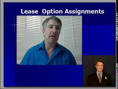 Lease Option Assignments   how they compare with Wholesaling, Retailing-Rehabbing, and Sub2