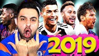 2019 YILININ EN İYİ FORVET FUTBOLCULARI !