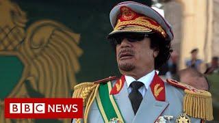 Libya's uprising ten years on - BBC News