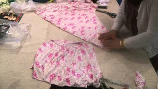 Umbrella Dress: Cutting And Explanation