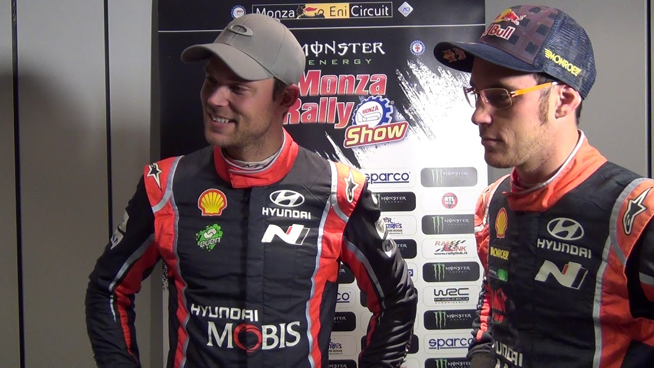 MRS 2017 - Andreas Mikkelsen e Thierry Neuville