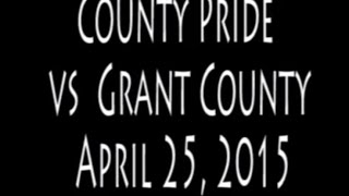 Alumni Football  County Pride vs Grant County on 4 25 15