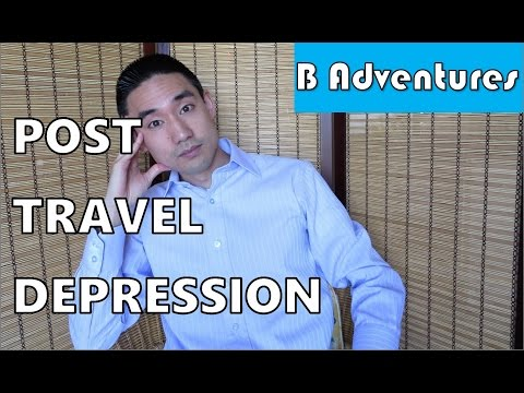 Post Travel Depression, Vacation Blues, PTD