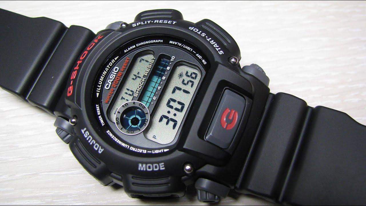 f334d04bd Casio G-Shock DW-9052 - YouTube