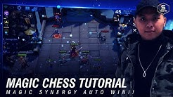 Magic Chess Tutorial by Fanlee - Cara bermain Mage Synergy! AUTO WIN! |