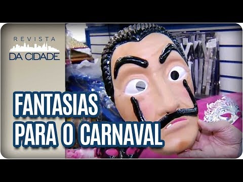 Fantasias Para O Carnaval - Revista Da Cidade (07/02/18)