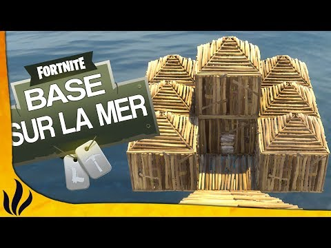 TROLL: WIN UNE GAME AVEC UNE BASE SUR LA MER ? (Fortnite: Battle Royale)