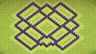 Clash Of Clans - Epic Town hall 7 Farming Base ( Town Hall 7 farming ) Speedbuild 2014!