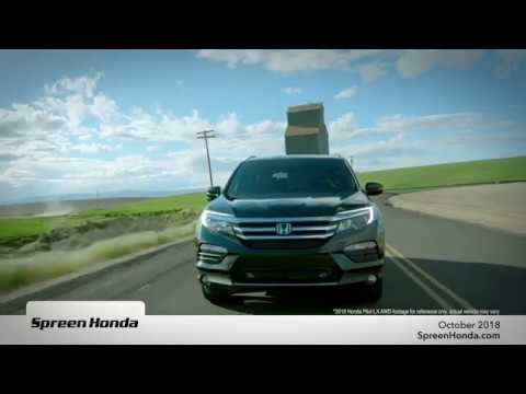 Lease Special - 2018 Honda Pilot FWD LX (Oct. 2018)