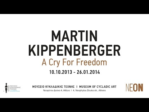 NEON PATHS | Martin Kippenberger | A Cry for Freedom exhibition | Athens