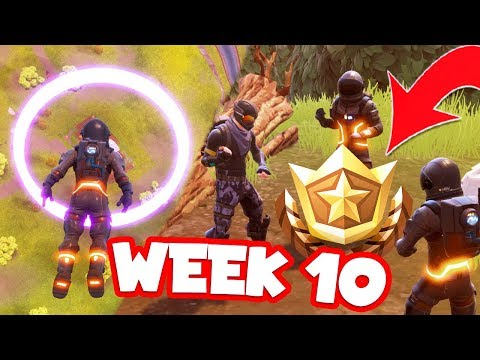 WEEK 10 CHALLENGES - Floating rings & Search Between STONE CIRCLE, WOODEN BRIDGE & RED RV LOCATION