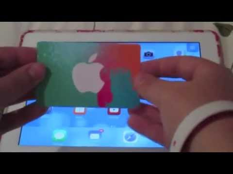 How to put an iTunes card on your device