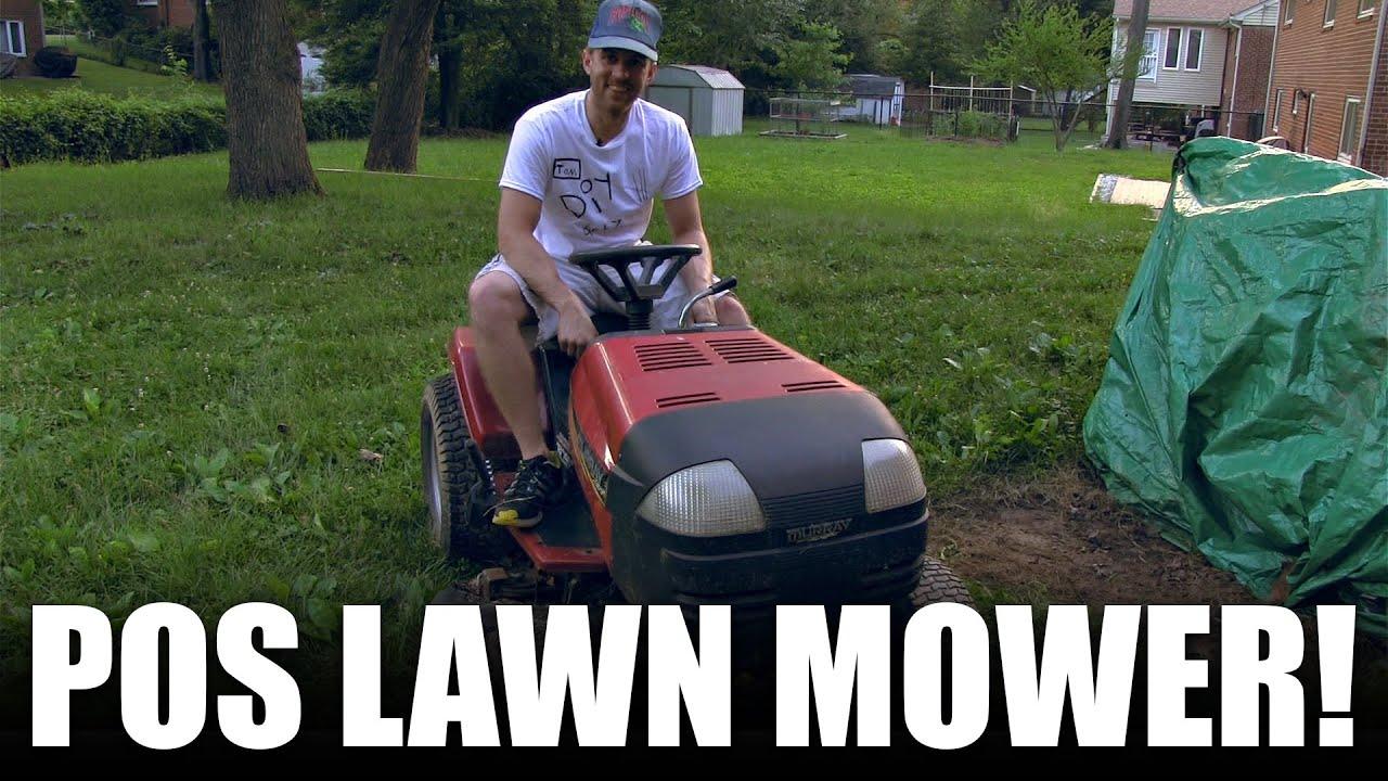 Riding lawn mower won t start - Lawn Mower Will Not Start Fix It Diy Dorkz Season 01 Ep 05