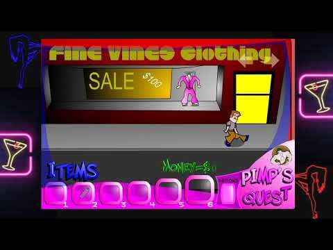 Pimp's Quest (Obscure Flash Game) |